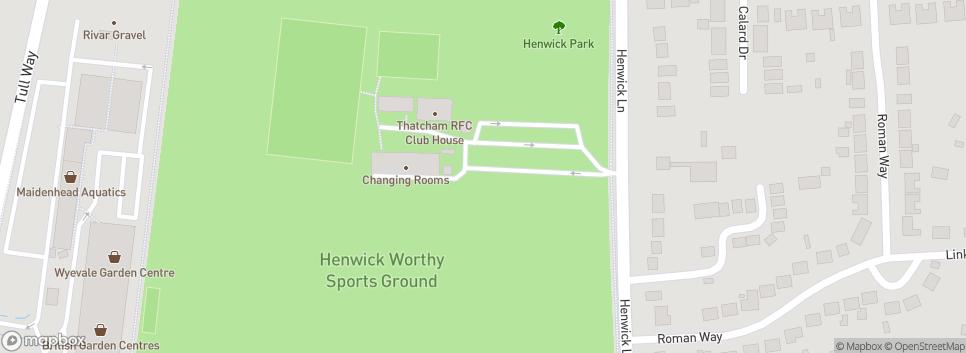 Thatcham Rugby Union Football Club Henwick Worthy Sports Fields