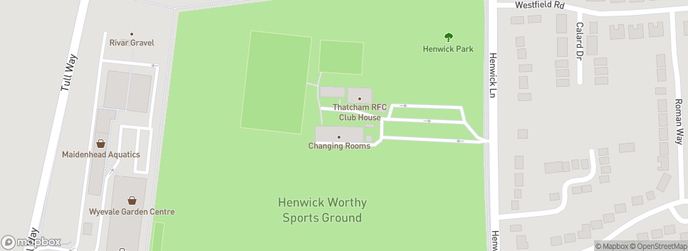 Thatcham Tornadoes Football Club Henwick Worthy Sports Ground