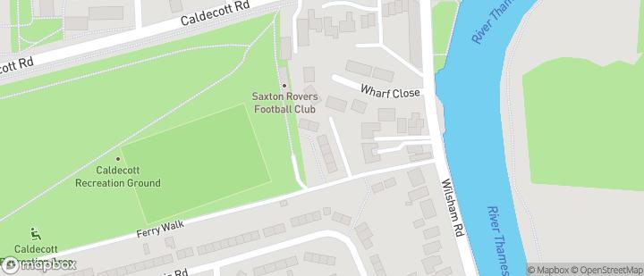 Abingdon - Saxton Rovers Ground