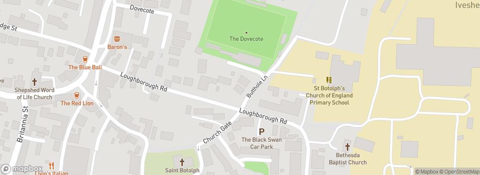 Ingles Football Club Dovecote Stadium