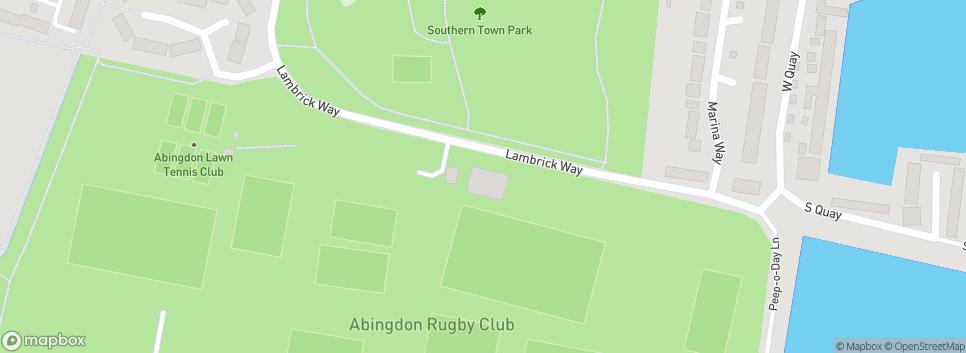 Abingdon Rugby Club Lambrick Way