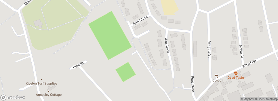Pinxton Football Club Van Elle Arena
