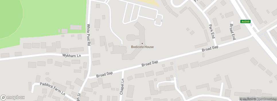 Bodicote Sports Whitepost Road