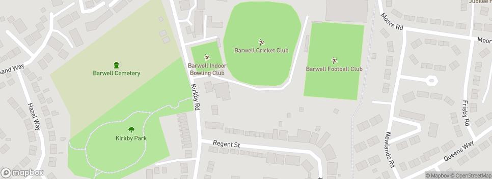 Barwell Football Club Kirkby Road Sports Ground