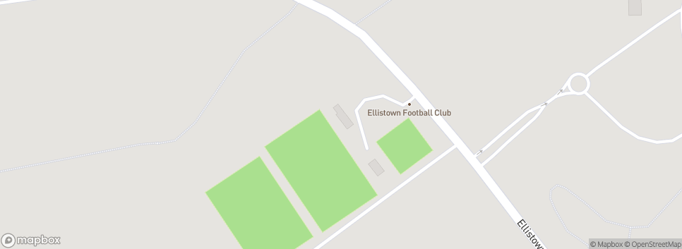 Ellistown FC Terrace Road Ground
