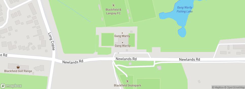 Blackfield & Langley FC Newlands Rd
