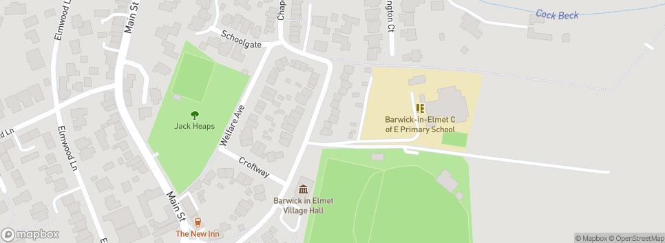 Barwick in Elmet CC Chapel Lane