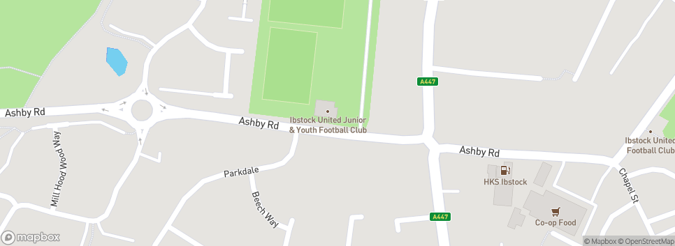 Ibstock United Junior & Youth FC Ashby Road