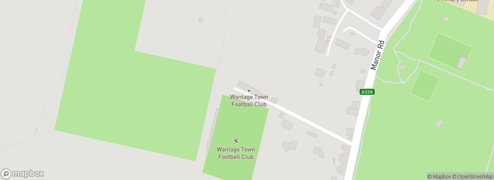 Wantage Town Football Club Alfredian Park