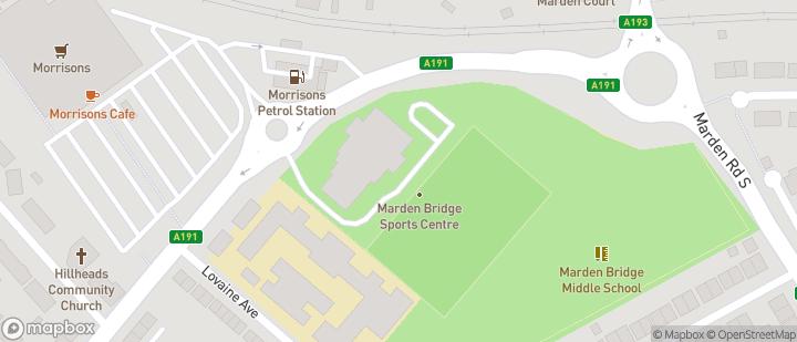 Marden Bridge Sports Centre (NE25 8RW)