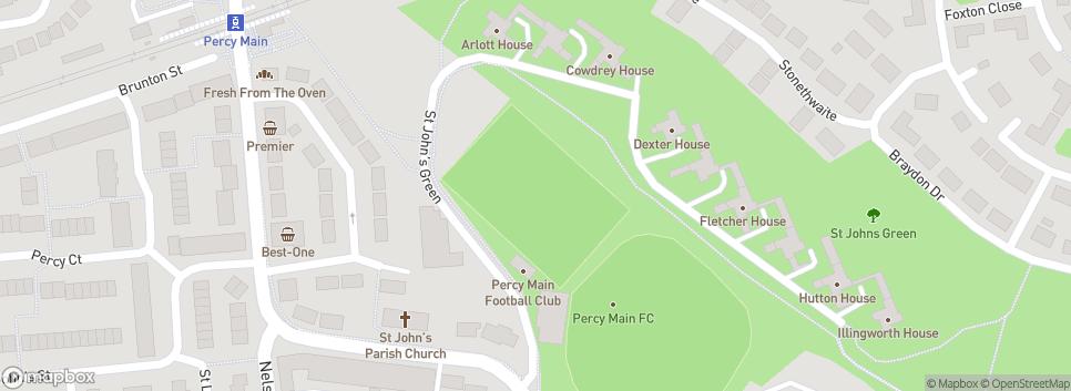 Percy Main Amateurs F.C. Purvis Park