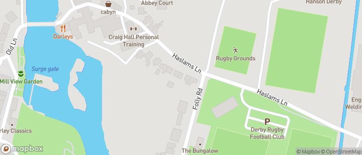 Derby RFC Haslams Lane