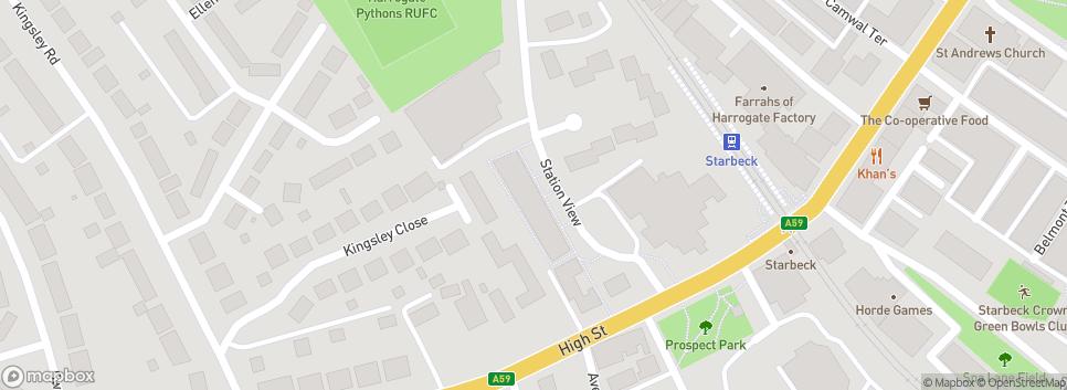 Harrogate Pythons Station View