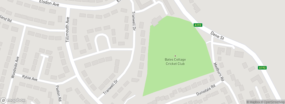 Bates Cottages Cricket Club Tranwell Drive