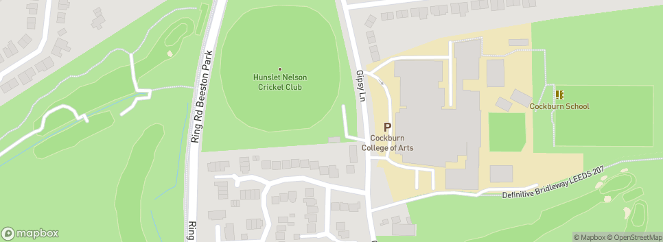 Hunslet Nelson Cricket Club Gipsy Lane