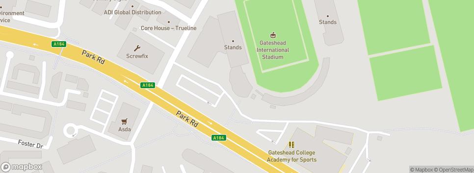 Gateshead FC Neilson Rd