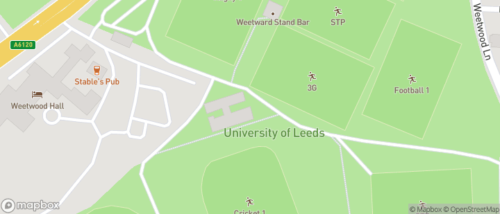 Weetwood  Uni Playing Fields.