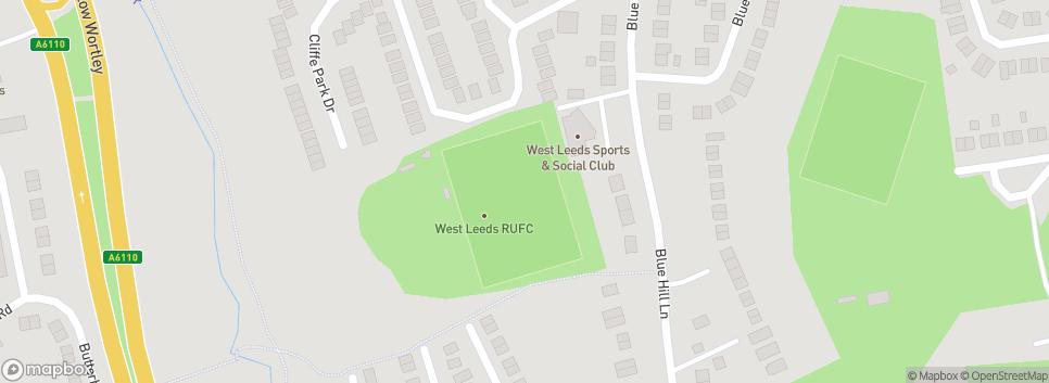 West Leeds RUFC Bluehill Lane,
