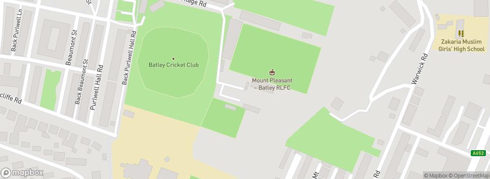 Batley Boys ARLFC Mount Pleasant Stadium
