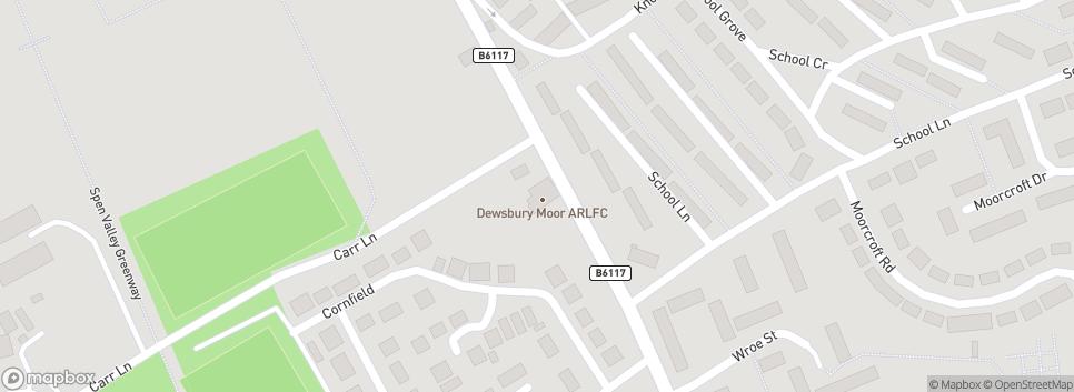 Dewsbury Moor ARLFC 229 Heckmondwike Road