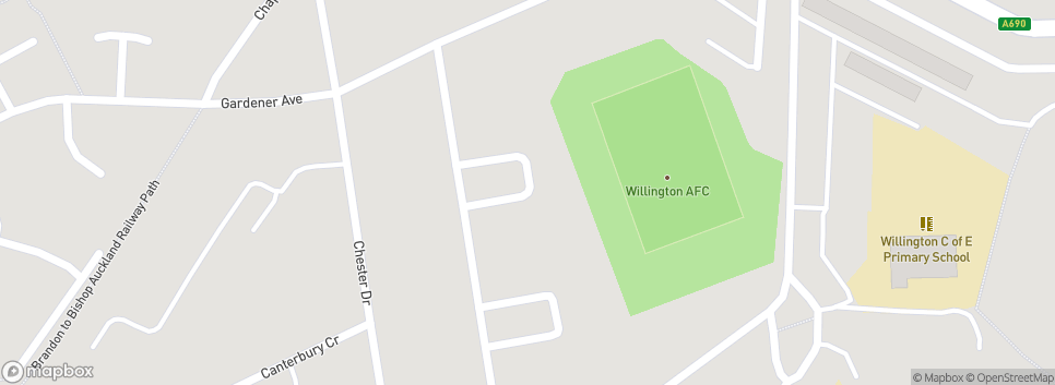 WILLINGTON A.F.C.  Hall Lane