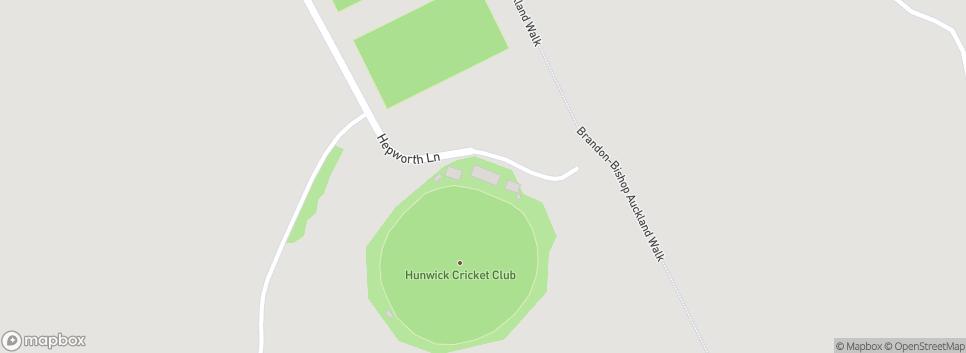 Hunwick Cricket Club Hunwick Playing Fields,