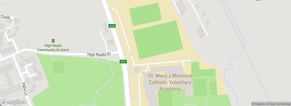 Menston JFC Bradford Road