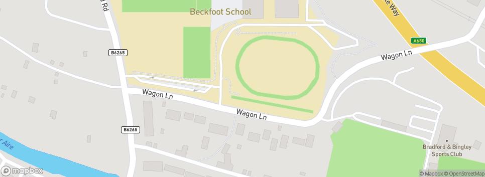 Bingley Juniors AFC Beckfoot School