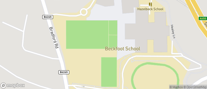 BJFC - Beckfoot School BD16 1EE