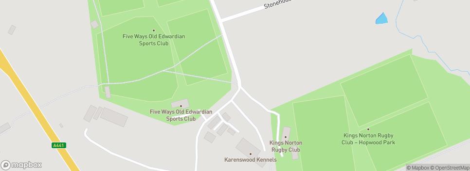Kings Norton RFC Hopwood Park