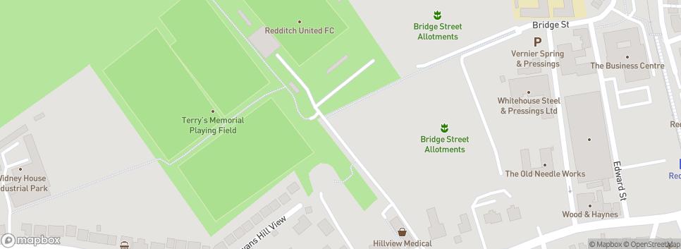 Redditch United Football Club The TRICO Stadium