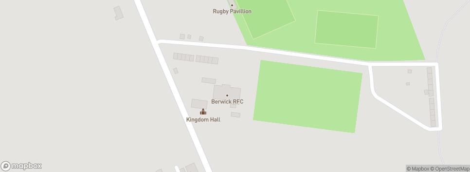 Berwick Rugby Club 11 Derwentwater Terrace