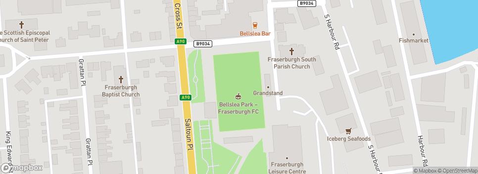 Fraserburgh Football Club Bellslea Park