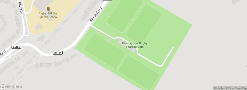 Bromsgrove Rugby Club Finstall Park