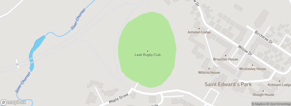 Leek RUFC Esterchem Park