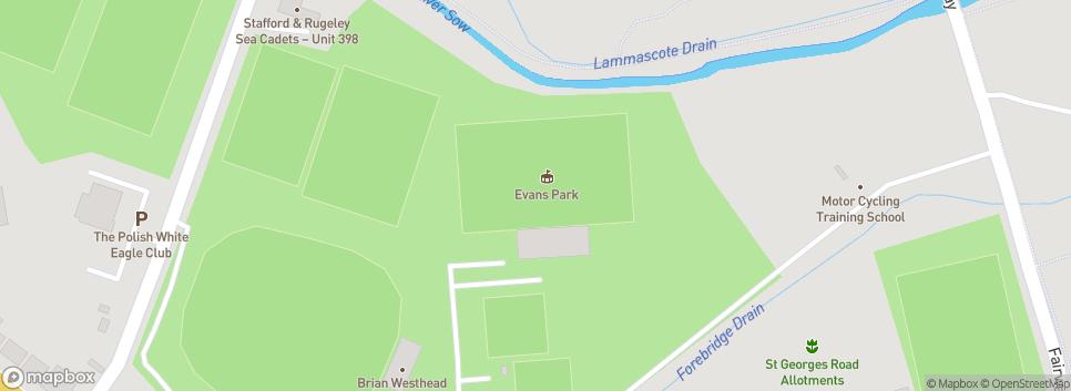 Stafford Town Evans Park