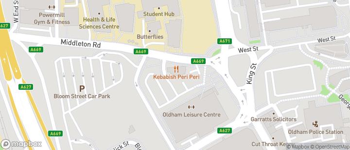 Oldham Sports Centre