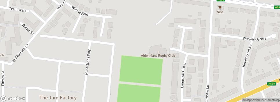 ALDWINIANS  RUFC Audenshaw Park