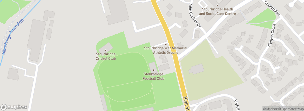 Stourbridge FC War Memorial Athletic Ground