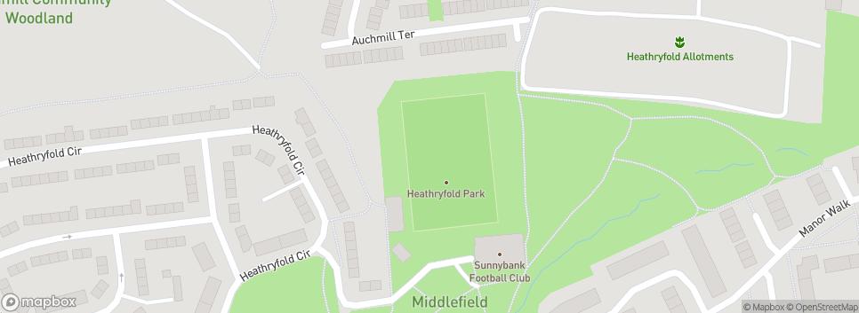 Sunnybank Football Club Heathryfold Circle