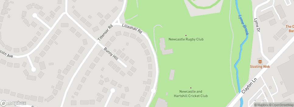 NEWCASTLE TOWN FC Buckmaster Avenue