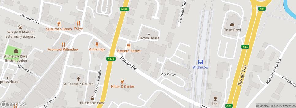 Wilmslow Cricket Club Rectory Field, Wilmslow Leisure Centre