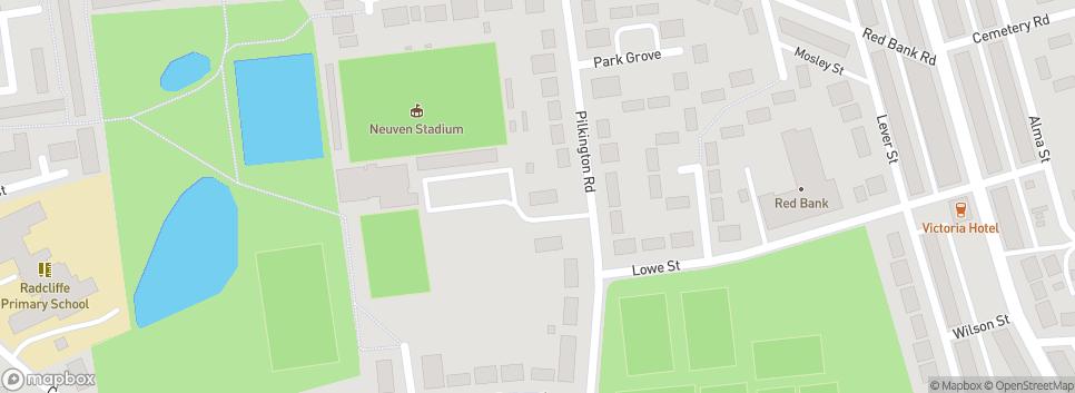 Radcliffe FC Neuven Stadium