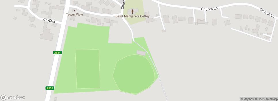 Betley Football Club Betley FC (Cricket Ground)
