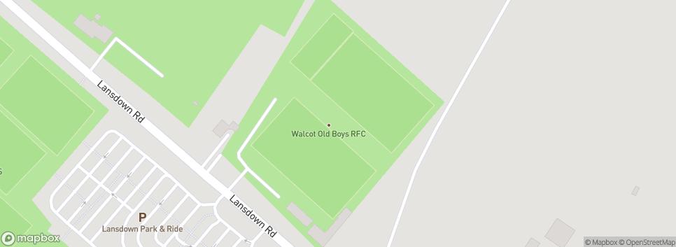Walcot Rugby Albert Field