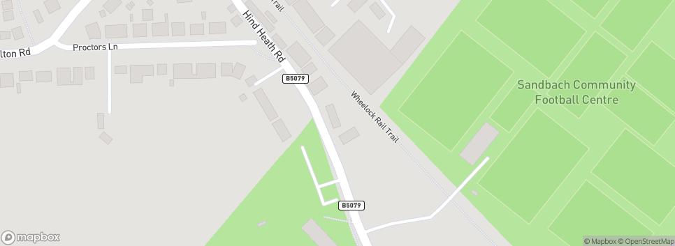 Sandbach United FC Hind Heath Road