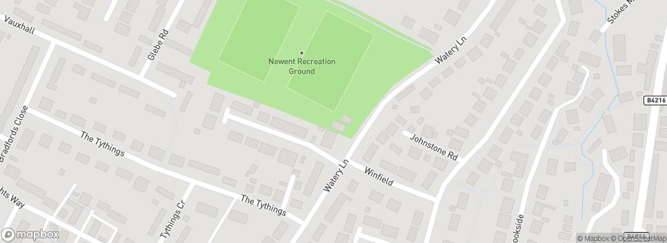 "Newent RFC . . . ""Green Army"" Recreation Ground"