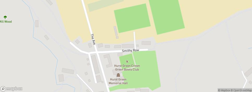 Hurst Green FC Smithy Row