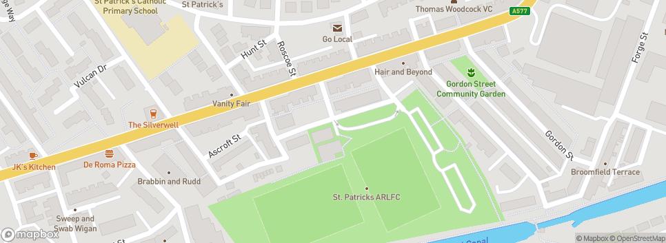 Wigan St. Patricks ARLFC Harper Street