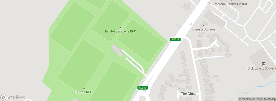 Bristol Saracens RFC Bakewell Memorial Ground